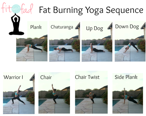 fat burning yoga seequence